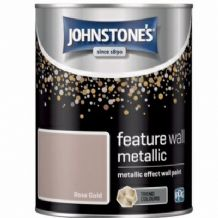 Johnstones Feature Wall Metallic Rose Gold 1.25L